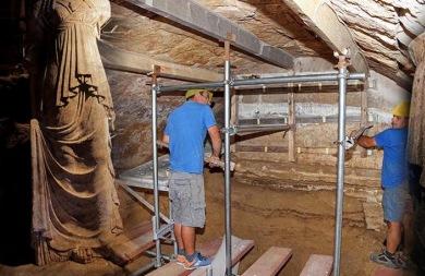 Πάνω από μισό εκατομμύριο ευρώ έχουν στοιχίσει οι ανασκαφές στην Αμφίπολη