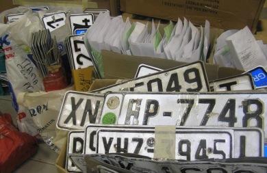 Καταθέτουν πινακίδες ακόμη και αυτοκινήτων μικρού κυβισμού