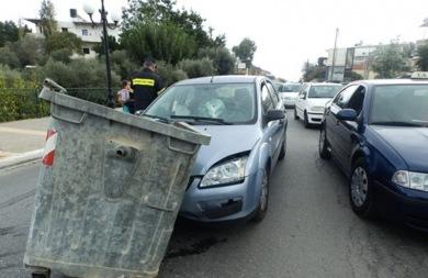 Μπαράζ τροχαίων στους δρόμους της Κρήτης