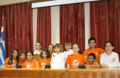 Στο δημαρχείο Χανίων ξεναγήθηκαν μικροί μαθητές!