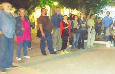 Οι εκπαιδευτικοί της Ιεράπετρας πραγματοποίησαν συγκέντρωση διαμαρτυρίας