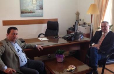 Τα προβλήματα του Δήμου Χερσονήσου στο επίκεντρο της συνάντησης Κεφαλογιάννη - Μαστοράκη
