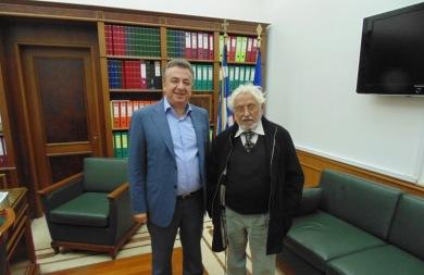 Τον Περιφερειάρχη Κρήτης επισκέφθηκε ο Ευρωβουλευτής Γιώργος Γραμματικάκης