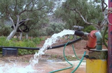 Μέχρι τις 31/12 οι αιτήσεις για άδειες γεωτρήσεων και οι άδειες χρήσης νερού
