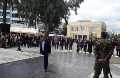 Με κάθε επισημότητα πραγματοποιήθηκε ο εορτασμός της Εθνικής Αντίστασης στο Ηράκλειο