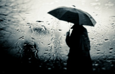 Συννεφιά και βροχή στην Κρήτη...