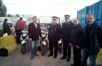 Ενισχύουν την Αστυνομία με δίκυκλα και εξοπλισμό