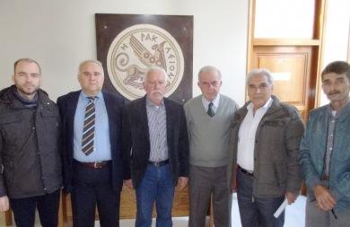 Συνάντηση Λαμπρινού με τη διοίκηση του 1ου Κυνηγετικού Συλλόγου