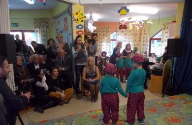 Σε Χριστουγεννιάτικη γιορτή παιδικού σταθμού ο Δήμαρχος Ηρακλείου