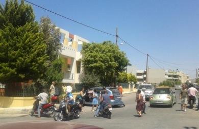 Οι οδηγοί κινδυνεύουν σε ένα από τα σημεία καρμανιόλα του Ηρακλείου - Συνεχή τα τροχαία!