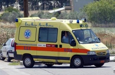 Αυτοκίνητο συγκρούστηκε με μηχανάκι στη Λεωφόρο Σούδας
