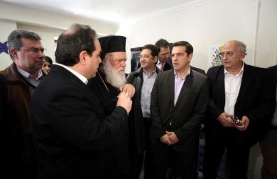 Με τον Αρχιεπίσκοπο Ιερώνυμο συναντήθηκε ο Αλέξης Τσίπρας!