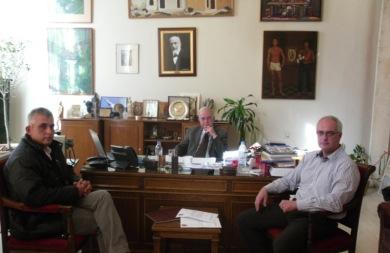 Μέλη του συλλόγου PALSO συνάντησαν τον Βασίλη Λαμπρινό