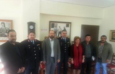 Συνεργασία Δήμου Κισσάμου και ΕΛ.ΑΣ. για τα θέματα αστυνόμευσης
