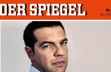 Ο Αλέξης Τσίπρας στο πρωτοσέλιδο του Spiegel ως «εφιάλτης της Ευρώπης»