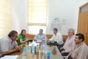 Συνάντηση με Περιφερειάρχη για τα έργα του Δήμου Γόρτυνας