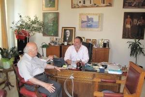 Συνάντηση του Δημάρχου Ηρακλείου με τον Καθηγητή κ.Παπαμαστοράκη