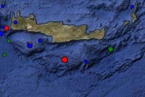 Σεισμός 4 Ρίχτερ στα νοτιοανατολικά του Τυμπακίου!