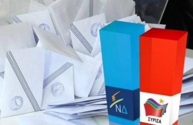 Σκληρή... μάχη ΝΔ - ΣΥΡΙΖΑ στις δημοσκοπήσεις!